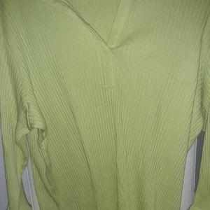 Lime Green Winter shirt